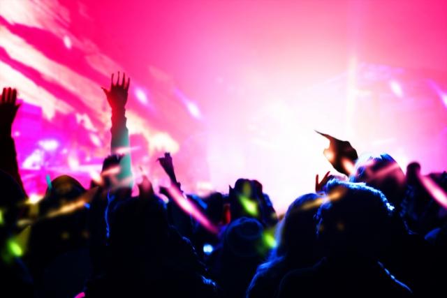 音楽フェスのイメージ