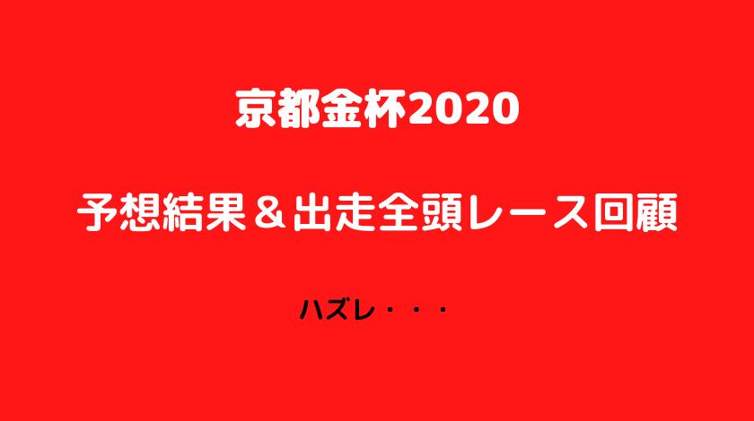 京都金杯レース回顧