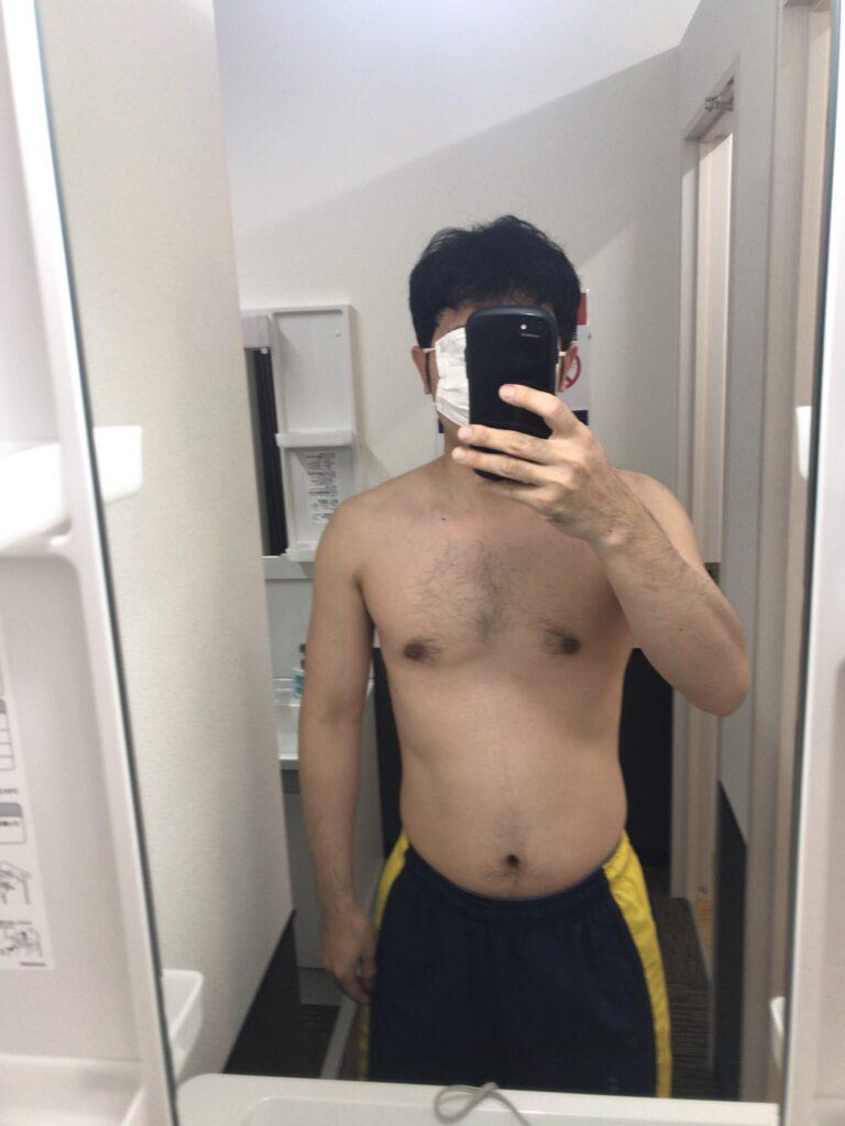 10日目の裸